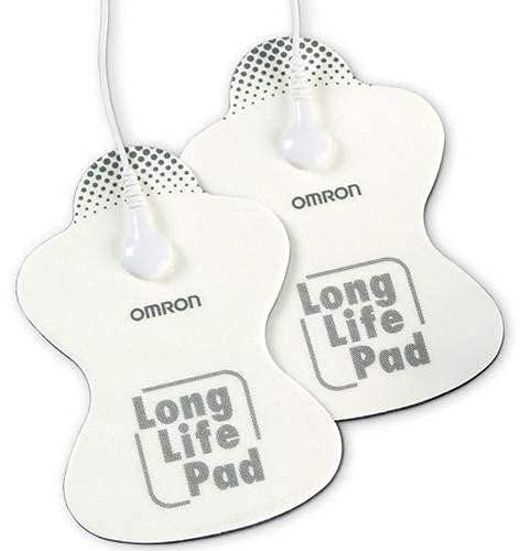 OMRON HV-LLPAD-E Elettrodi di ricambio a lunga durata per dispositivi TENS OMRON E3 Intense, PocketTens ed E4