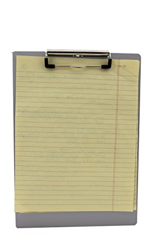 Saunders 21511 Recycled Aluminum Clipboard - Silver, Legal Size, 8.5 in. x 14 in. Document Holder with Low Profile Clip Photo #6