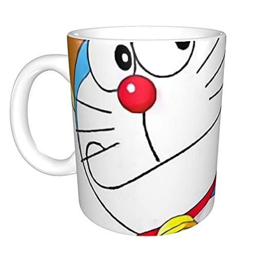 Doraemon - Taza de regalo para mujer, esposa, madre, abuela, niña, profesora, amigas, Navidad, cumpleaños, día de la madre