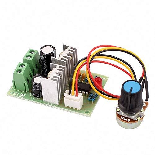 LF_FFa 1pc 12V-36V de Ancho de Pulso del regulador del regulador de Velocidad del Motor DC PWM Interruptor 12V 24V 3A (tamaño : 12V-36V)