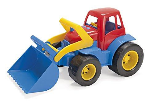 Dantoy - Tractor con Pala Excavadora movible de plástico (12129)