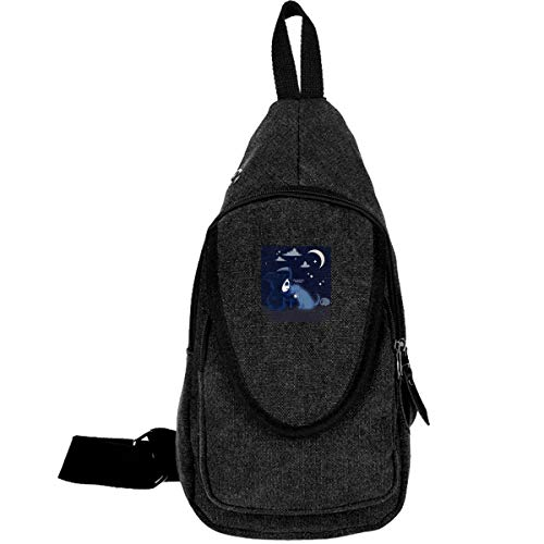Unisex Sling Bag Chest Bagpack Crossbody Daypacks Best Boy Canvas Shoulder Backpack