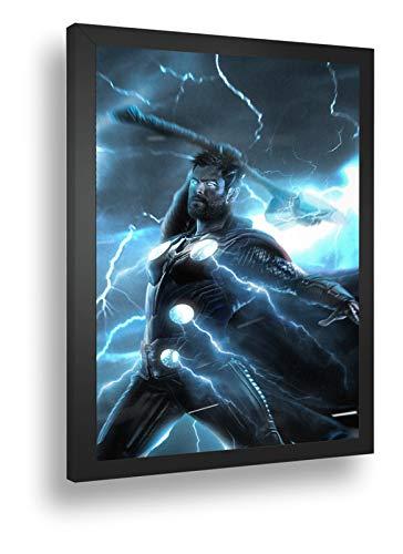 Quadro Decorativo Poster Thor Ragnarok Filme Marvel