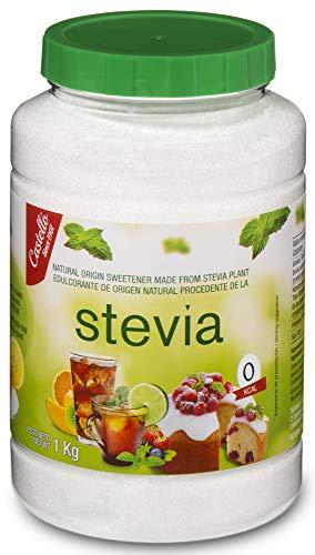Castelló Since 1907 Édulcorant Stevia + Érythritol 1:1 - Flacon 1 kg