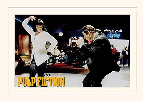 Pyramid International Pulp Fiction Dance Mounted Print Memorabilia 30 x 40cm 30 x 40 x 1 3 cm product image