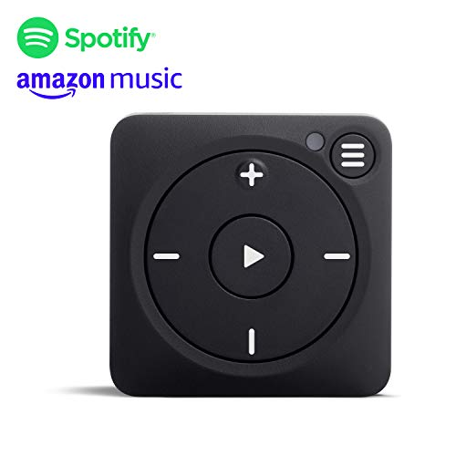 Mighty Vibe, der Spotify und Amazon Music Player, aufklippbarer digitaler Mediaplayer mit Bluetooth und WLAN. Lassen Sie Ihr Handy zu Hause - Zazzy-Schwarz