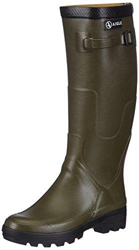 Aigle Unisex Benyl XL Gummistiefel Grün (kaki) 41