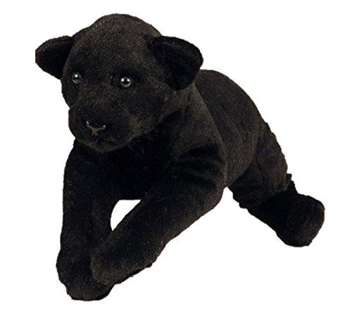 Schwarzer Panther XL Plüschtier ca. 60 cm Kuscheltier Softtier Raubkatze Stofftier