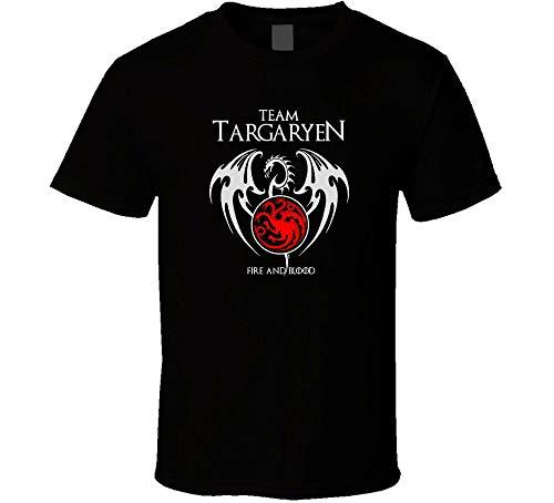Team Targayen Fire and Blood T Shirt