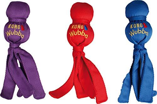 Kong Wubba - Juguete para el perro, talla L, colores aleatorios