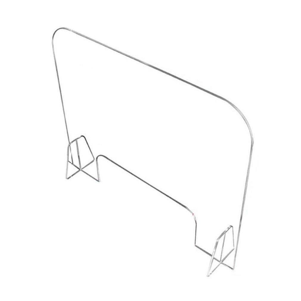 KUYUC Mampara de Protección Metacrilato, Transparente Acrílico Protectora en Metacrilato, Portátil Pantalla Protección Mostrador para Hospitales Hoteles (Size : 40x50cm(16x20inch)): Amazon.es: Oficina y papelería