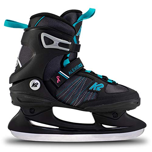 K2 Skates Damen Schlittschuhe Alexis Ice — Black - Blue — EU: 39 (UK: 5.5 / US: 8) — 25E0040