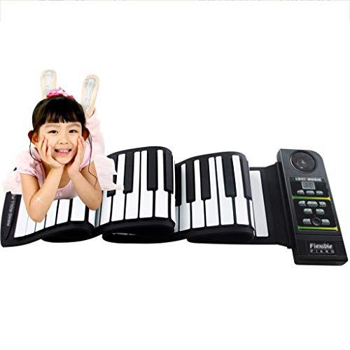 ZJJXD Piano De 88 Teclas Enrollado A Mano, Teclado Electrónico...
