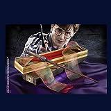 GXLO Wand de Harry Potter con Caja de Cinta Dura, Cane de la Serie de 14'Harry Potter, Varita mágica de los Accesorios de Halloween y de Navidad