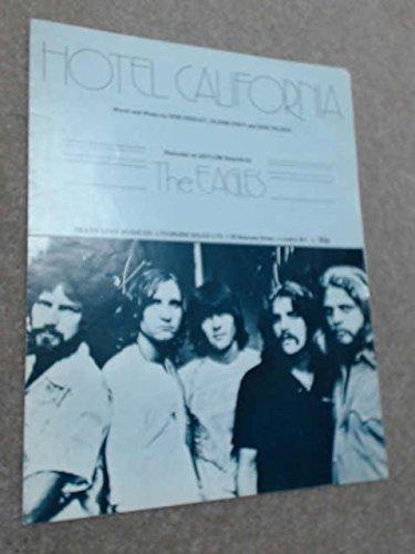 Eagles : Hotel California - chant + piano + accords