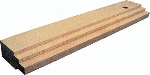 Triuso Schlagholz 300x57x29mm Schalgklotz für Pakett Laminat Verlegeset Schlagleiste Laminatverlegung Parkettverlegung