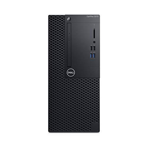 Dell Optiplex 3070 MT Komplett-PC, Schwarz, Windows 10 Pro 64-bit