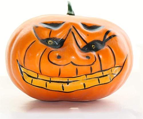 HIZLJJ Halloween Pumpkin Props Decoration Party Bar Park Simulation Bubble Pumpkin Decoration
