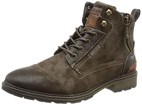 MUSTANG Shoes Boots in Übergrößen Braun 4140-504-32 große Herrenschuhe, Größe:47
