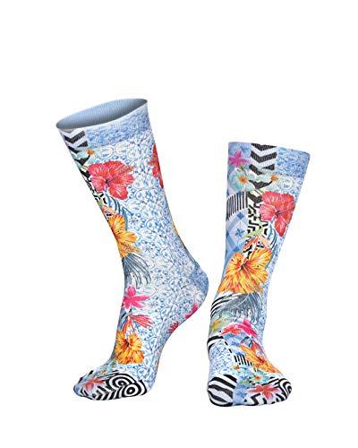 Wigglesteps Damen Socken CRAZY LILLY, one Size (36-41)