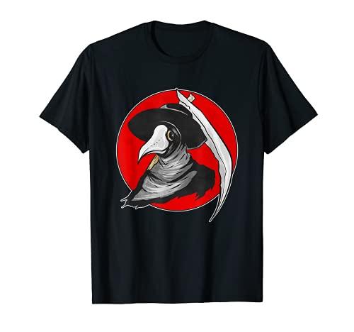 Máscara de médico de la peste negra retro Camiseta