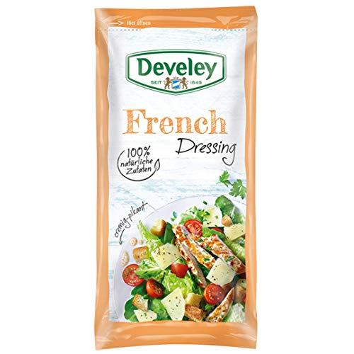 Develey French Dressing mit 100% natürlichen Zutaten 14x 75 ml Beutel