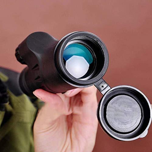 WMYATING Telescopio, Tubo único, Binocular, Aventura de CAM Telescopio monocular, 8x30 Monocular Hand-Definición Handheld Prisma para observación de Aves Camping Hunting Fauna Viajar