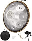 Handpan Drums Sets 2021 Newest Premium Drums Instrument Adults 10 Notes 22 Inches Handpan For Music Enthusiast