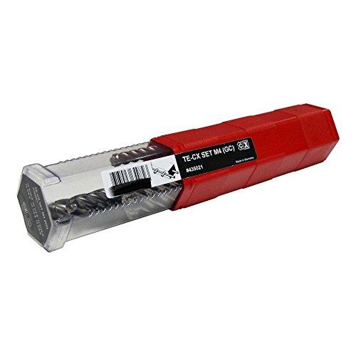 Hilti 435021 TE-CX Carbide Drill Bit Set, 6-Piece