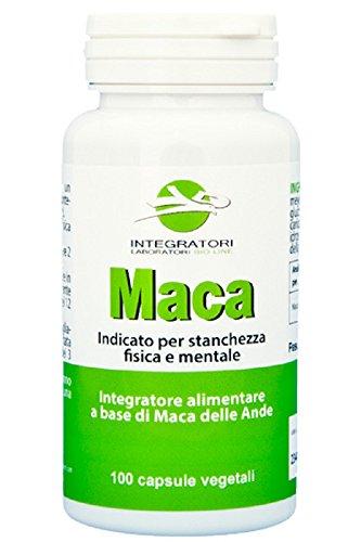 MACA - Integratore alimentare a base di Maca andina (Lepidium meyenii Walp.), 100 capsule da 500mg