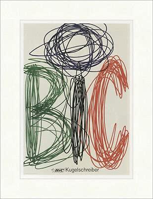 Kunstdruck BIC 636 - Bolígrafo, diseño de Marcel Bich