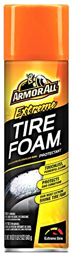 Armor All Extreme Car Tire Foam Spray Bottle, Cleaner for Cars, Truck, Motorcycle, 18 Oz, 18930