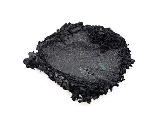 42g/1.5ozBlack Onyx Mica Powder Pigment (Epoxy,Resin,Soap,Plastidip) Black Diamond Pigments by CCS