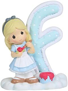Precious Moments, Disney Showcase Collection, Alphabet Letter F, Resin Figurine, 114450