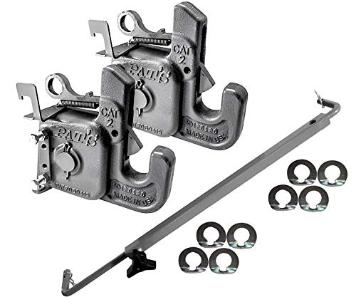 Category 2 Pat's Easy Change w/ Stabilizer Bar - Best Quick Hitch System On The Market – Flexible, Durable & Affordable - Comes w/ 4 Pair of Washers