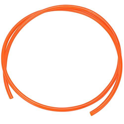 Manguera neumática, tubería de aire, resistencia a alta presión, materiales puros.(orange, 3m)