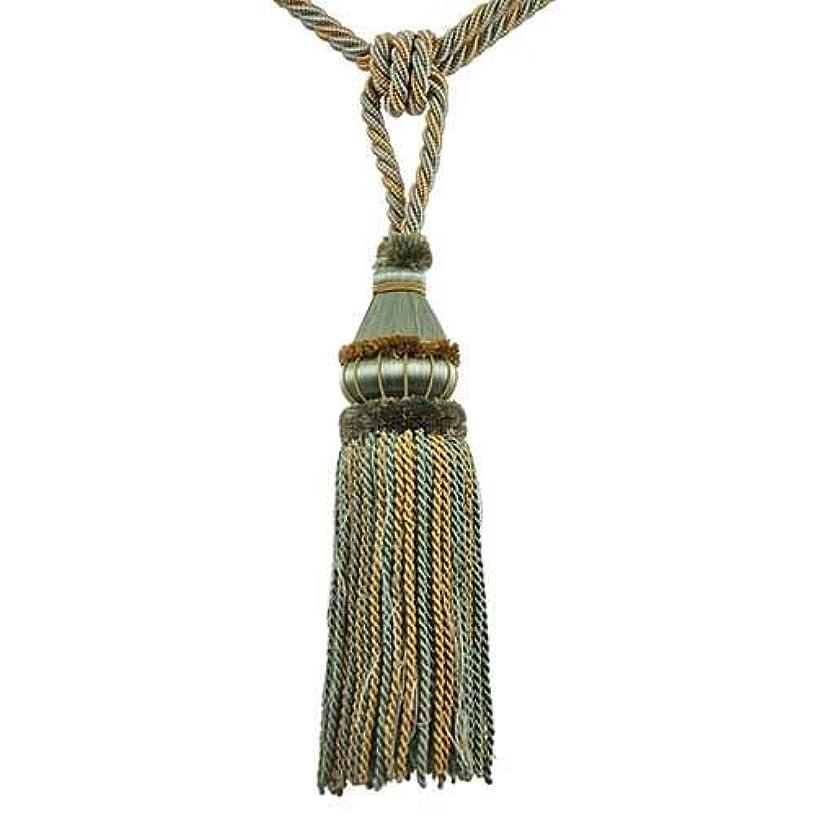 BELAGIO Enterprises BT-6002-33-82 Single Tassel Tie-Back, Turquoise