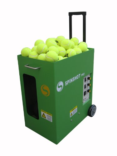 Spinshot-PRO TENNIS BALL MACHINE * Tennis Ball Throwing Machines *