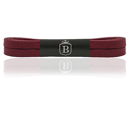 Brandery laces(90x7, burgundy red)
