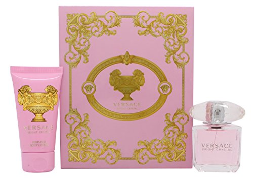 Versace Bright Crystal 30 ml EDT Spray / 50 ml Perfumed Body Lotion, 1er Pack (1 x 130 ml)