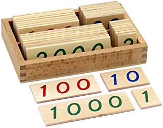 Best montessori number cards Reviews