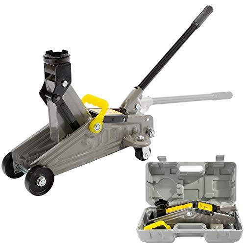 Gato hidráulico para coche Ton Trolley con funda de transporte