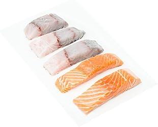 Kühlbarra Fresh Barramundi Fish, 200g, 3 Count and Salmon Cut, 2 Count - Chilled