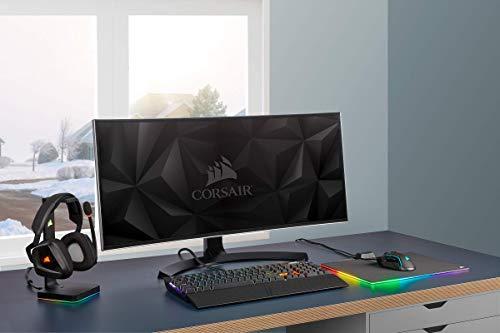 Corsair Glaive PRO RGB Comfortable FPS/MOBA Optical Gaming Mouse (18,000 DPI Optical Sensor, Interchangeable Handles, RGB LED Backlight), Black