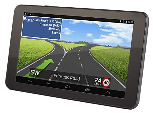 """Aguri Truck TX740 PRO 7"""" Truck Sat Nav with Built-in Dash Cam, Wi-Fi and UK & Ireland mapping."""