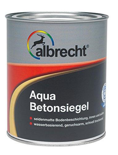 Lackfabrik J. Albrecht GmbH & Co. KG 3400707250700102500 Aqua-Betonsiegel RAL 7001 2.5l