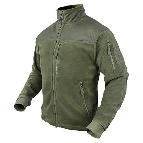 CONDOR 601-001-XL ALPHA Micro Fleece Jacket OD XL