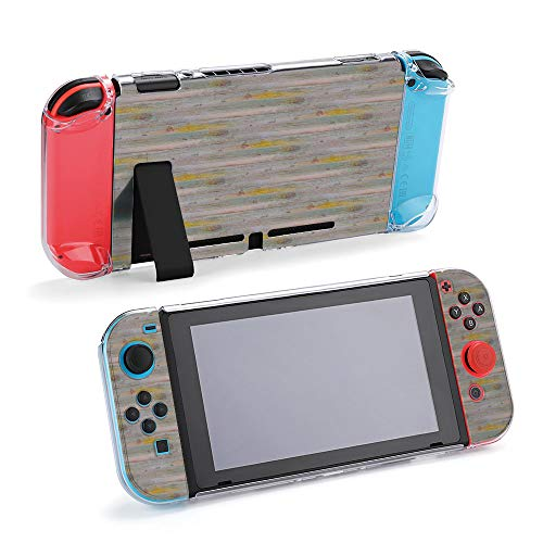 SUPNON Carry Case Compatible with Nintendo Switch, Ultra Slim Hard Shell, Protective Carrying Case for Travel - Digitally Altered Paint Texture for Seamless Design30962