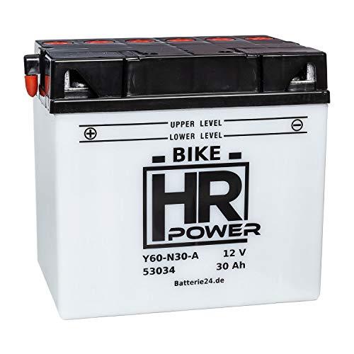 Batterie für Rasentraktor Rasenmäher Aufsitzmäher 12V 30Ah Y60-N30-A C60-N30-A 53034 wartungsfrei