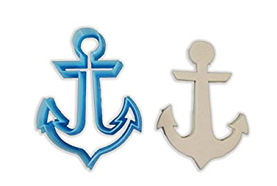 Nautical Bar Anchor Cookie Cutter - ALL SIZES SET